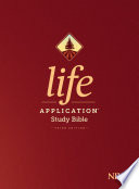 Niv Life Application Study Bible Third Edition Red Letter Hardcover