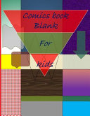Blank Comic Book Comic Sketch Book