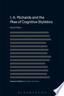I. A. Richards and the Rise of Cognitive Stylistics