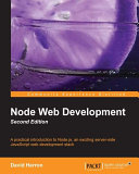 Node Web Development, Second Edition