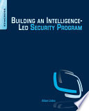 Building an Intelligence Led Security Program Book