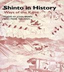 Shinto in History Pdf/ePub eBook