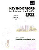 Key Indicators for Asia and the Pacific 2012 Book