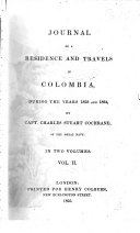Journal of a Residence and Tour in the Republic of Mexico  in     1826  With Some Account of the Mines of that Country