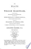 The Plays of William Shakspeare  Julius Caesar   Antony and Cleopatra   Cymbeline   Titus Andronicus   Pericles Book