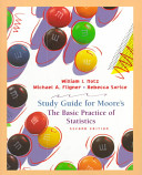 Cover of Student Study Guide for The Basic Practics of Statistics, Second Edition