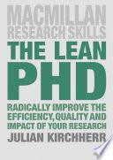 The Lean PhD
