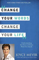 Change Your Words  Change Your Life Book