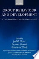 Group Behaviour and Development