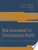 Risk Assessment for Environmental Health Book