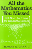 All the Mathematics You Missed