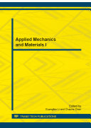 Applied Mechanics and Materials I