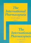The International Pharmacopoeia