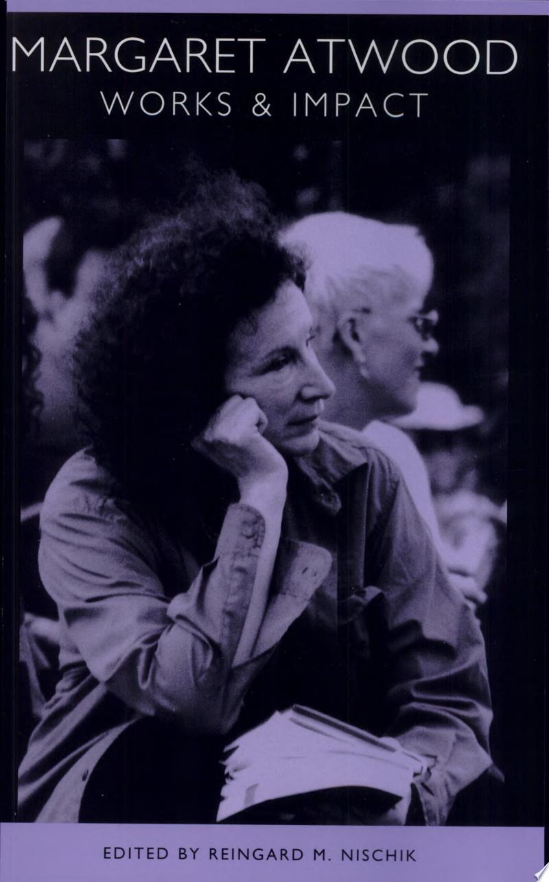 Margaret Atwood banner backdrop