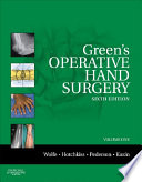 """Green's Operative Hand Surgery: The Pediatric Hand E-Book: Expert Consult: Online and Print"" by Scott W. Wolfe, William C. Pederson, Robert N. Hotchkiss, Scott H. Kozin, Mark S Cohen"