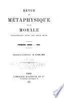 Revue de métaphysique et de morale Pdf/ePub eBook