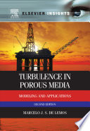 Turbulence In Porous Media Book PDF