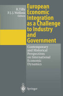 European Economic Integration as a Challenge to Industry and Government