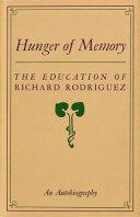 Hunger of Memory Book PDF