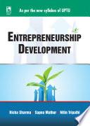 Entrepreneurship Development (For UPTU, Sem.VII)