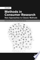 Methods in Consumer Research, Volume 1
