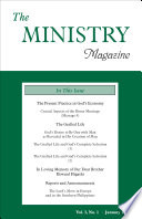 The Ministry Of The Word Vol 3 No 1