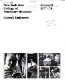 Annual Report   New York State College of Veterinary Medicine
