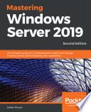 Mastering Windows Server 2019