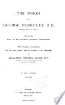 The Works Of George Berkeley Miscellaneous Works Index V 1 3 Book PDF