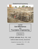Geotechnical Engineering   Applied Soil Mechanics and Foundation Engineering   Volume 4