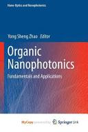 Organic Nanophotonics Book