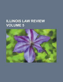 Illinois Law Review