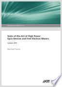 State of the Art of High Power Gyro Devices and Free Electron Masers  Update 2015  KIT Scientific Reports   7717