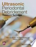 Ultrasonic Periodontal Debridement