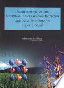 Achievements of the National Plant Genome Initiative and New Horizons in Plant Biology Book