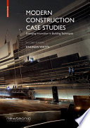Modern Construction Case Studies Book