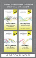 Pdf Thinkers 50: Innovation, Leadership, Management and Strategy (EBOOK BUNDLE)