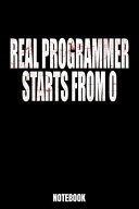 Real Programmer Starts from O Notebook