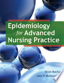 Epidemiology for Advanced Nursing Practice Book