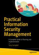Practical Information Security Management