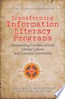 Transforming Information Literacy Programs