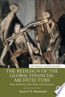 The Redesign of the Global Financial Architecture Book