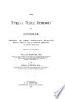 The Twelve Tissue Remedies of Sch  ssler Book