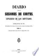 Diario de las sesiones de Cortes  , Band 2