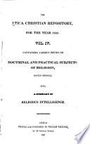 The Utica Christian Repository