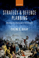 Strategy and Defence Planning