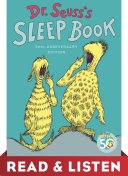 Dr. Seuss's Sleep Book: Read & Listen Edition