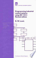 Programming Industrial Control Systems Using IEC 1131 3 Book
