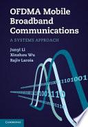 Ofdma Mobile Broadband Communications Book PDF