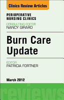 Burn Care Update, An Issue of Perioperative Nursing Clinics - E-Book ebook